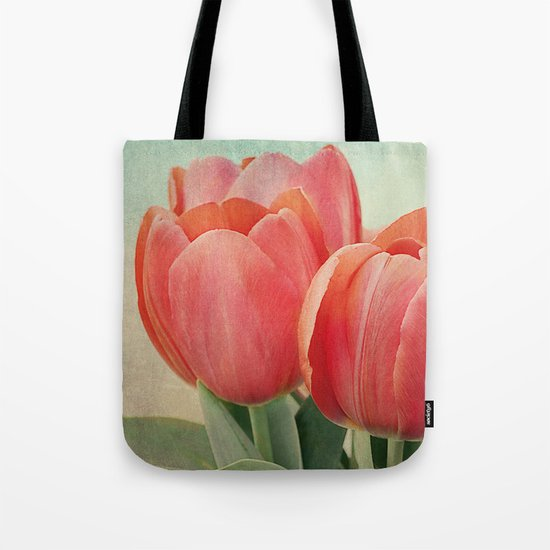 Vintage tulips(4) Tote Bag