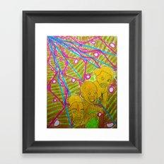Sea of Fish Framed Art Print
