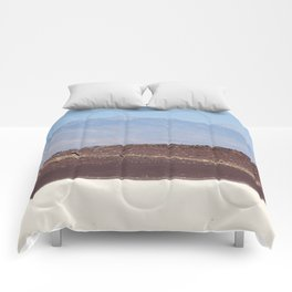 Layers of Earth (Fossil Falls, California) Comforters