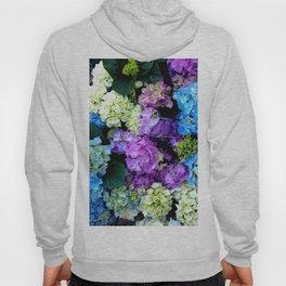 Colorful Flowering Bush Hoody