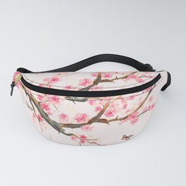 Pink Cherry Blossom Dream Fanny Pack
