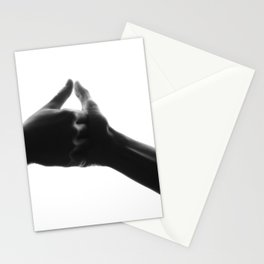 thumb war Stationery Cards