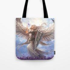 White Angel Tote Bag