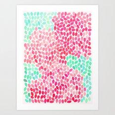 rain 7 Art Print