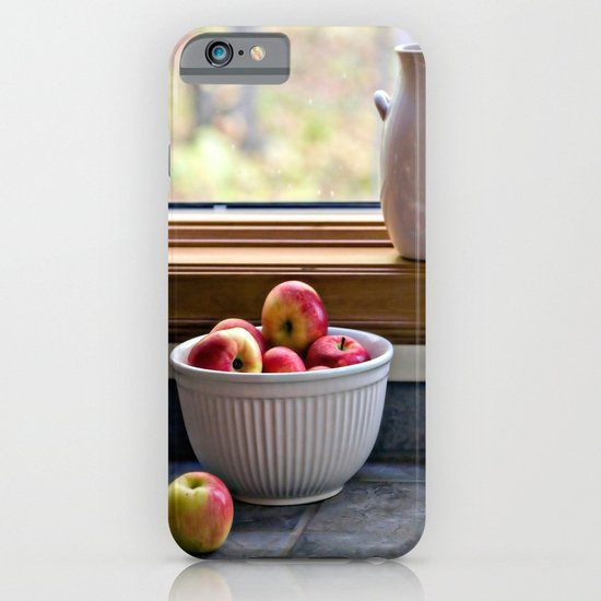 Apples in a Bowl iPhone & iPod Case