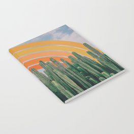 Cactus and Rainbow Notebook