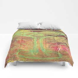 atomic olives Comforters