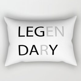 Another day at the GYM Rectangular Pillow