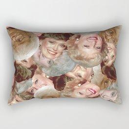 Golden Girls Toss Rectangular Pillow