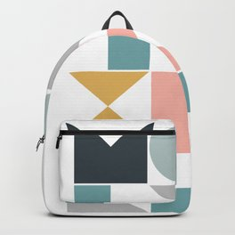 Modern Geometric 08 Backpack