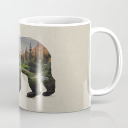 The North American Black Bear Coffee Mug