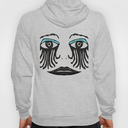 Gothic Face Hoody