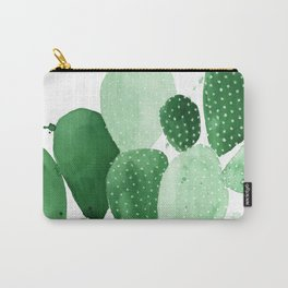 Green Paddle Cactus II Carry-All Pouch