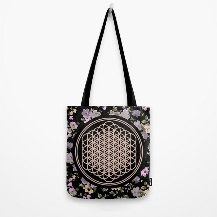 This Is Sempi-floral Tote Bag