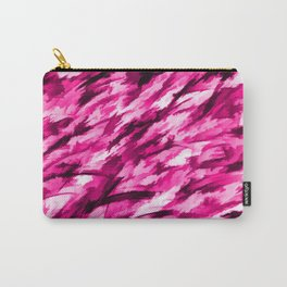 Designer Camo in Hot Pink Carry-All Pouch
