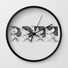 ISAK+EVEN (no text) Wall Clock