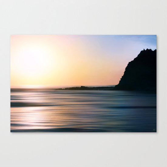 The Edge Canvas Print