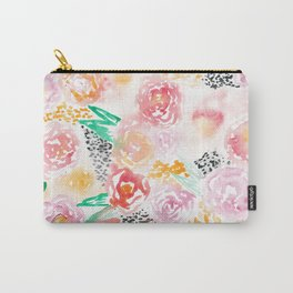 Abstract Watercolor III Carry-All Pouch