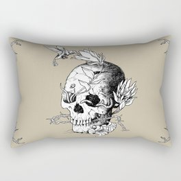 Skull one A Rectangular Pillow