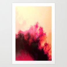 Painted Clouds II Art Print
