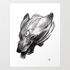 Three Eye Art Print