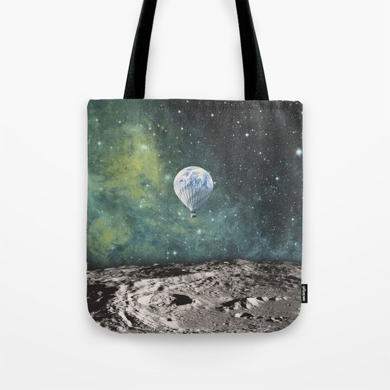 FLOATING THROUGH SPACE Tote Bag