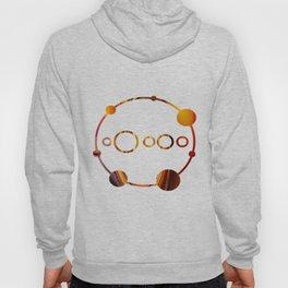 Orange Spiral Hoody