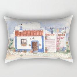 Traditional house Rectangular Pillow