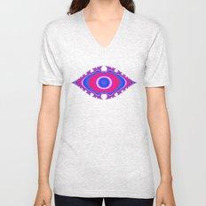 Pink Eye Unisex V-Neck