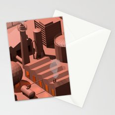Low Poly Industry Stationery Cards