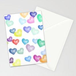 Hearts Aflutter Stationery Cards