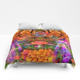 Hypnotic Autumn Magic Comforters
