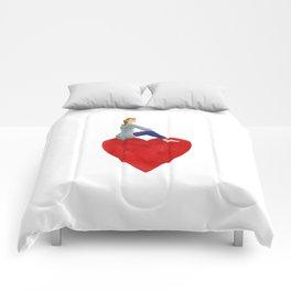 Saint valentin Comforters