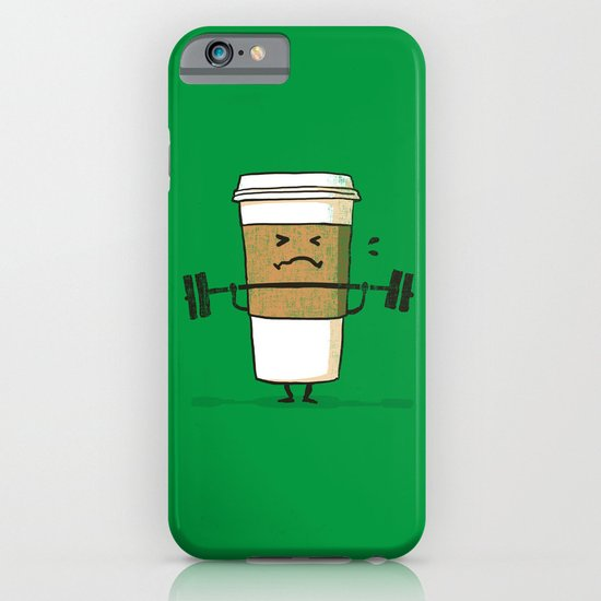 Strong Coffee iPhone & iPod Case