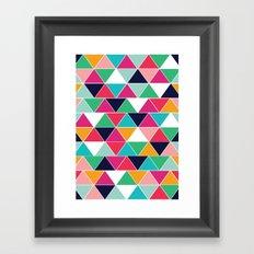 love triangle Framed Art Print