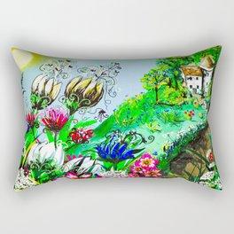 Enchanted Return Rectangular Pillow