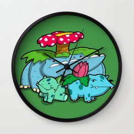 Pokémon - Number 1, 2 & 3 Wall Clock