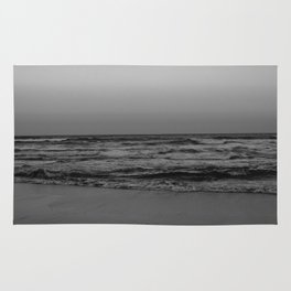 Black and White Beach - SERIES 1.2 Rug
