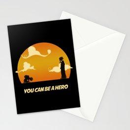 My Hero Sunset Stationery Cards