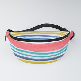 Sunny Day Stripes Fanny Pack