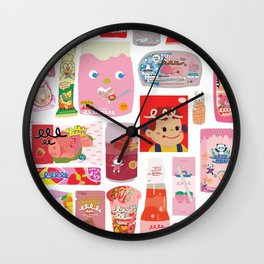 Japanese packaging Wall Clock