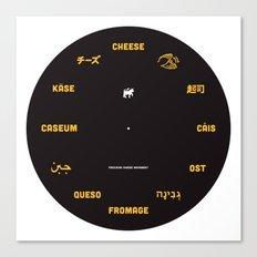 Cheese Movement Canvas Print