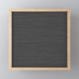 Dark Gray Heather - AetherierPrint Framed Mini Art Print