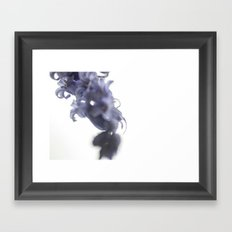 {blue} Framed Art Print