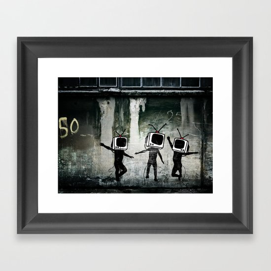 21st Century Digital Boys Framed Art Print