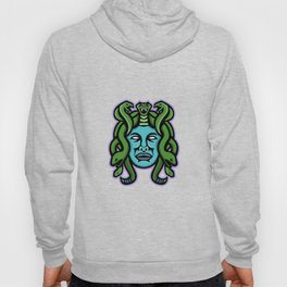 Medusa Greek God Mascot Hoody