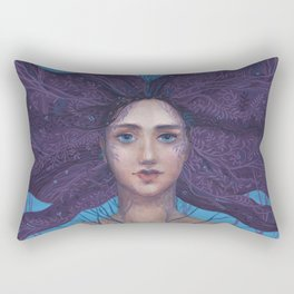 Primavera Fantasy Art Spring Goddess Rectangular Pillow