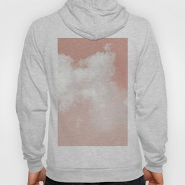 Floating Cotton candy in blush pink Hoody