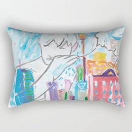Nothing Lasts Forever - Except Us Rectangular Pillow