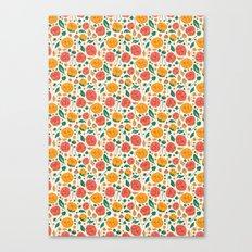 Flowers Bloom Canvas Print